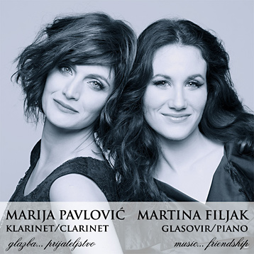 Marija Pavlovic / Martina Filjak duo - Album: Music...friendship